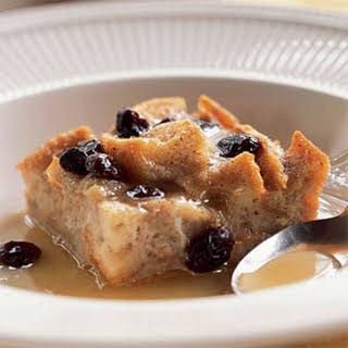 New Orleans Bread Pudding with Bourbon Sauce.