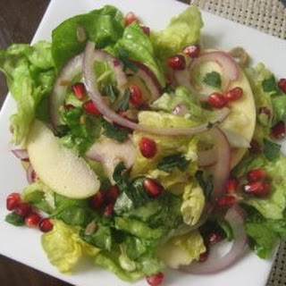 Apple and Pomegranate Salad with Honey Vinaigrette