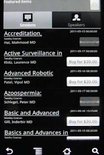 AUA 2011 Courses - screenshot thumbnail
