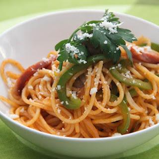 Spaghetti Napolitan.