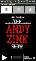 Screenshot of The Andy Zink Show