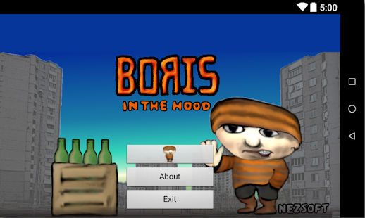 Boris in the hood- screenshot thumbnail