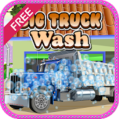 Big Truck Wash Car Games