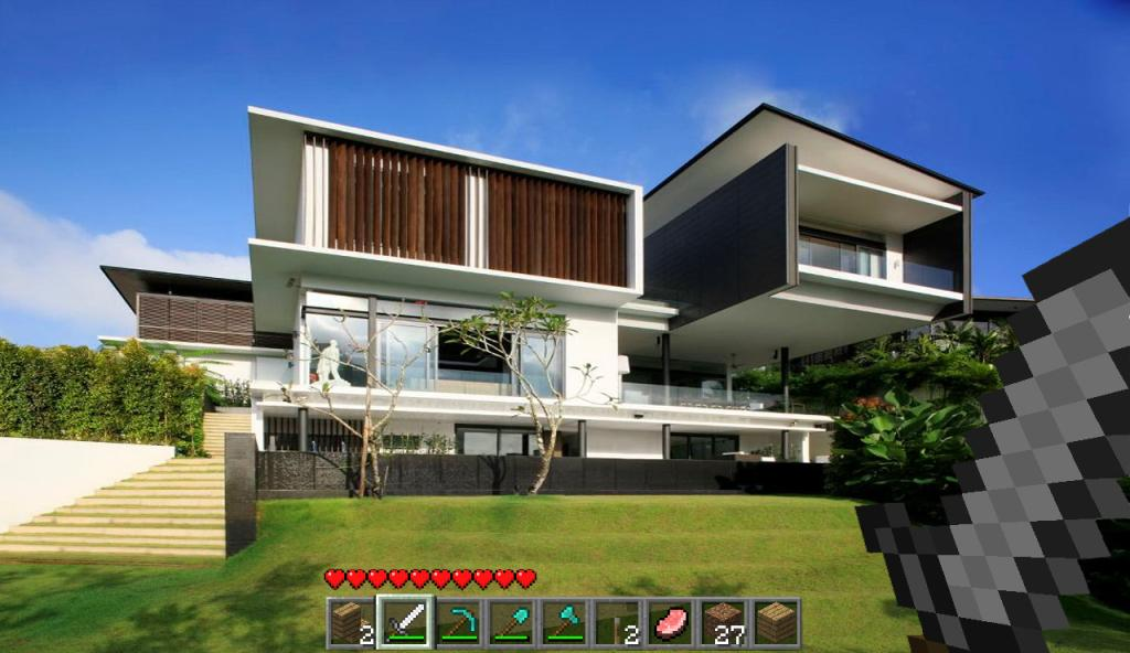 Modern house ideas minecraft google play store revenue for Cool modern house ideas