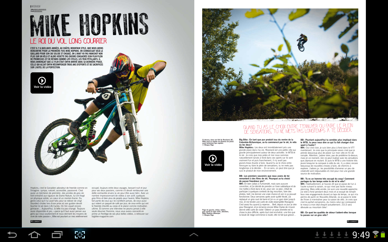 Bikes Mag Big Bike Magazine screenshot