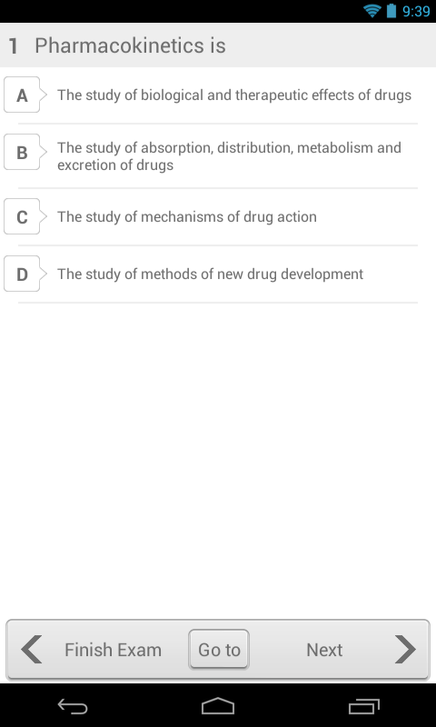 Pharmacy Exam Pro for DHA/MOH- screenshot