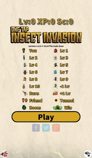 One Tap Insect Invasion Free