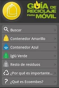 GuiaReciclaje- screenshot thumbnail