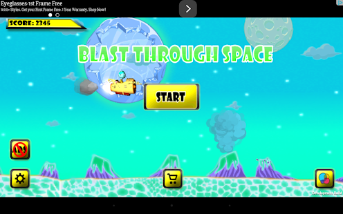 Blast through Space- screenshot thumbnail