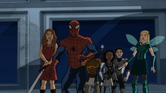Ultimate Spider-Man Web Warriors - Halloween Night at the Museum
