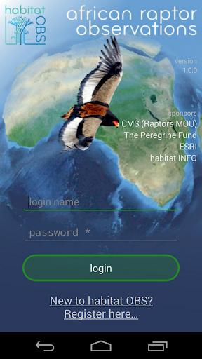 African Raptor Observations