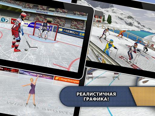 Игра Athletics: Снег Спорт для планшетов на Android