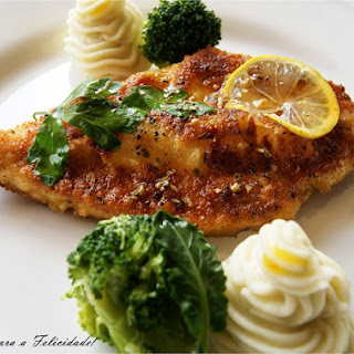 Buttered Chicken Steaks.
