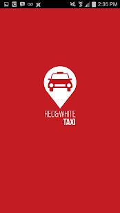 Red & White Taxi APP- screenshot thumbnail