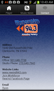 Rewind 94.3 - screenshot thumbnail