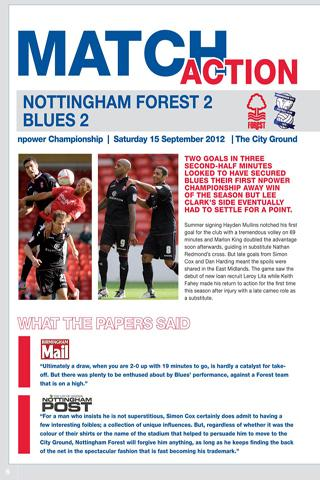 BCFC Official Programmes - screenshot