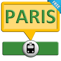 Paris subway & guide icon