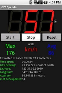 GPS Speedometer- screenshot thumbnail