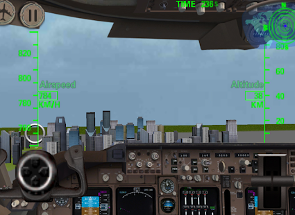 3D Airplane flight simulator - screenshot thumbnail