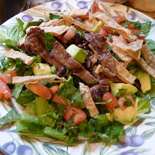 Grilled Mexican Steak Salad.