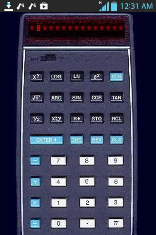 HP-35 Emulator Calculator