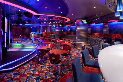 Allure-of-the-Seas-On-Air-Karaoke - Here's the rule at sea: You're allowed to sing karaoke because you're never going to see these people again. So check out the On Air Karaoke Lounge aboard Allure of the Seas.