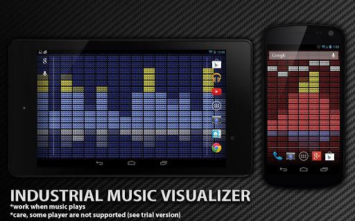 玩個人化App 工業音樂可視化免費 APP試玩