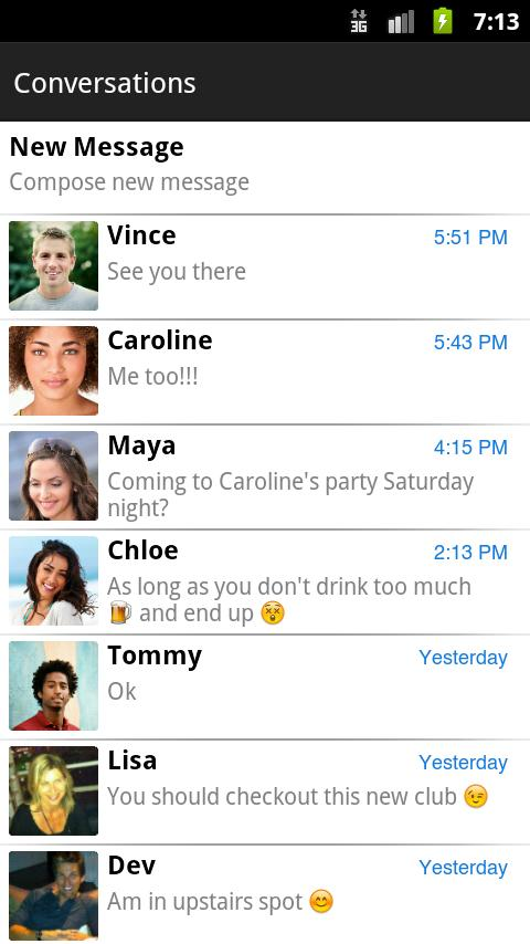 Download chomp SMS for android devices free