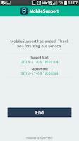 Screenshot of MobileSupport - RemoteCall