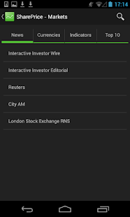 SharePrice - screenshot thumbnail