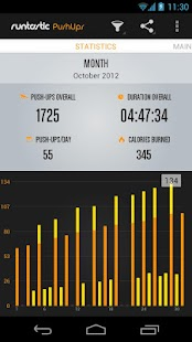 Runtastic Push-Ups Workout PRO - screenshot thumbnail