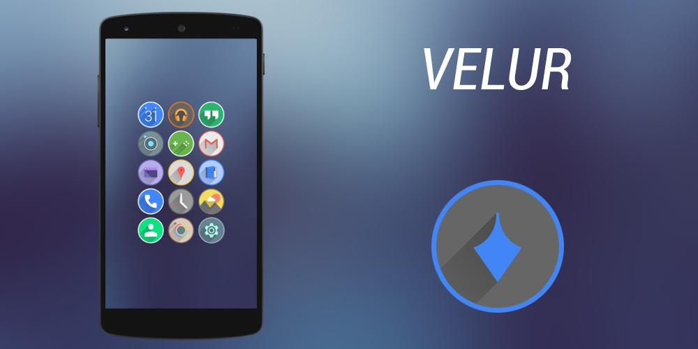 Velur - Icon Pack - screenshot