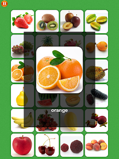 Fruit Match Memory Training