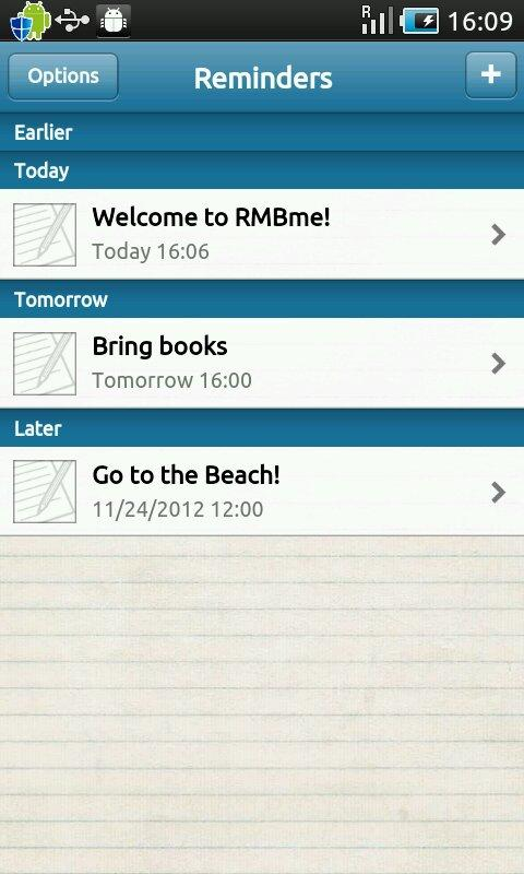 RMBme - screenshot