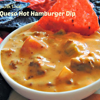 Pico/Queso Hot Hamburger Dip