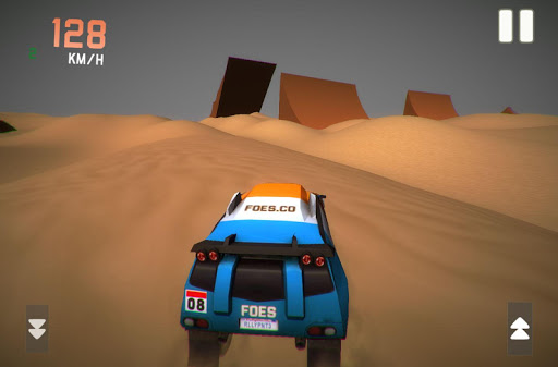 Dubai Dune Bashing Rally