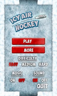 Icy Air Hockey Free - screenshot thumbnail