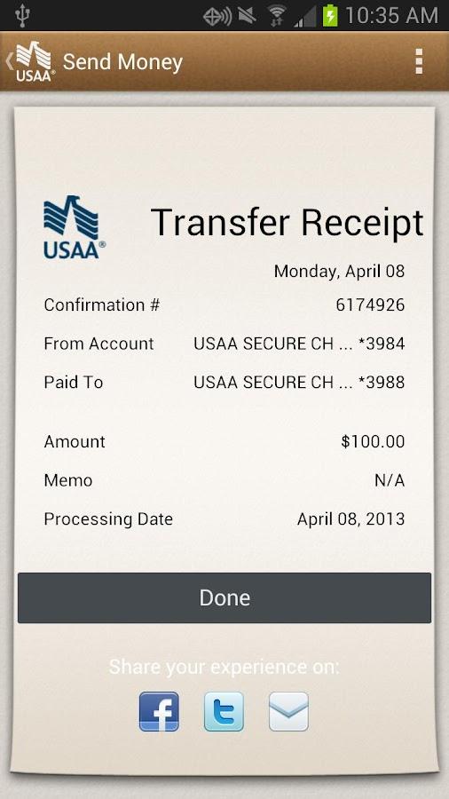 Usaa Car Loan >> USAA Mobile - screenshot