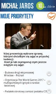 Mój Poseł Michał Jaros - screenshot thumbnail