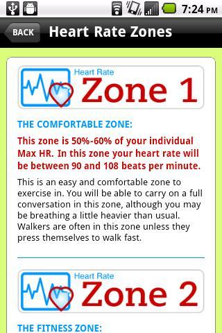 Heart Rate Zones- screenshot