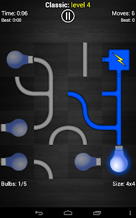 Power the Bulbs - Logic game - screenshot thumbnail
