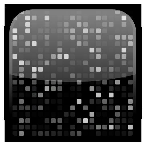 個人化App|點陣動態桌布 LOGO-3C達人阿輝的APP