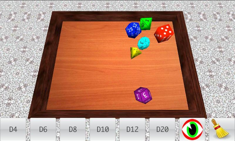 Real Dice Roll (Free) - screenshot