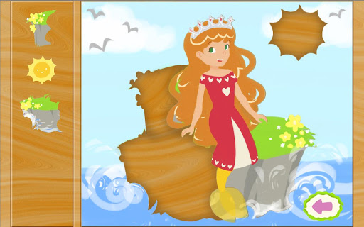 おとぎ話ゲーム: マーメイド プリンセス パズル