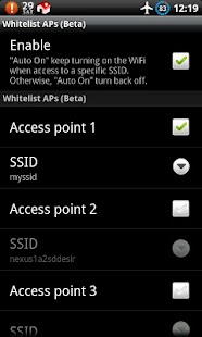 Auto WiFi Toggle - screenshot thumbnail