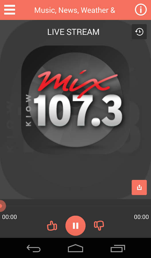 107.3 KIOW- screenshot