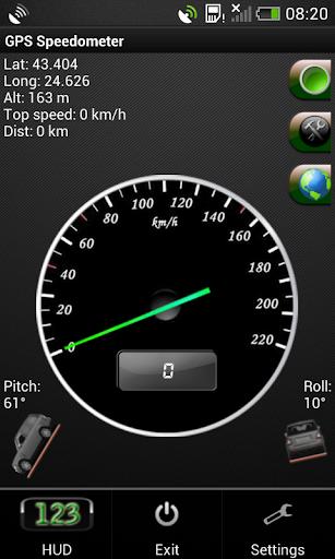 GPS的車速表:公里 英里