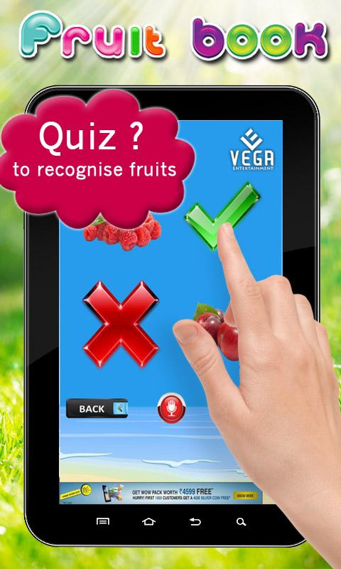 Fruits book- screenshot