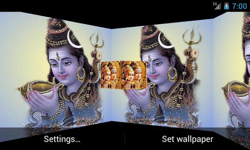 Shiv Shankar 3D Live Wallpaper
