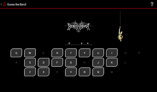Guess the Band Metal Logo Quiz- screenshot thumbnail